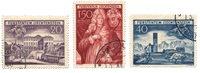 Liechtenstein 1949 - Michel 281/283 - Stemplet