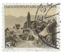 Liechtenstein 1949 - Michel 284 - Oblitéré