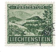 Liechtenstein 1953 - Michel 320 - Oblitéré