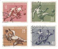 Liechtenstein 1954 - Michel 322/325 - Oblitéré