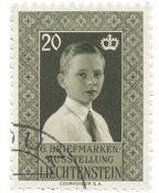 Liechtenstein 1956 - Michel 352 - Oblitéré