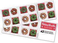 USA - Julekranse - Postfrisk hæfte