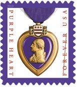 Etats-Unis - Purple Heart 2019 réimpression - Timbre neuf
