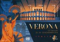 Nations Unies - Bloc-feuillet d'exposition Verona - Bloc-feuillet neuf