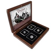Découverte d'argent des vikings - 4 monnaies historiques en argent