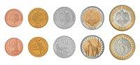 Soudan du Sud - Série de monnaies du plus jeune pays du monde - 5 monnaies - bimétalliques