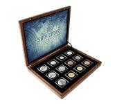 Monde Entier - Collection navires - 12 monnaies