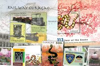 Costa Rica, Curacao, Den Dominikanske Republik - Frimærkepakke - Postfrisk