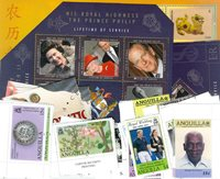 Anguilla, Antigua & Barbuda, Bahamas - postzegel pakket - postfris
