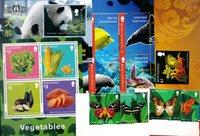 Montserrat -  Paquet de timbres - Neufs