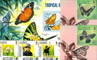 Brunei, Maldives -  Paquet de timbres - Neufs