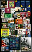 Grenades -  Paquet de timbres - Neufs