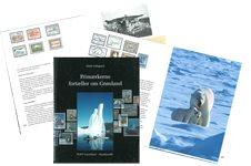 Frimærkerne fortæller om Grønland - Dansk - Bog