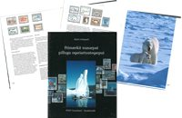Frimærkerne fortæller om Grønland - Grønlandsk - Bog