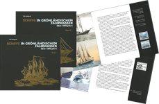 Skibsfart på Grønland gennem 1000 år - Bind I+II -  Tysk - Bøger