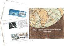 Tolv Grønlandekspeditioner 1818-1978 - Set gennem frimærker - Dansk - Bog