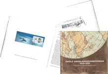 Tolv Grønlandekspeditioner 1818-1978 - Set gennem frimærker - Tysk - Bog