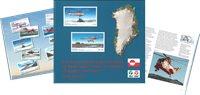 Grønlands civile luftfartshistorie 1960-2015 på frimærker - Grønlandsk - Bo