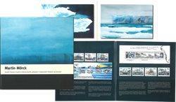 Katalog over Martin Mörcks grønlandske frimærker og akvareller- Dansk