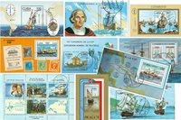 古巴海员10张小型张不同邮票