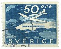 Sverige - 1936 AFA 243 stemplet