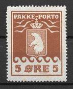 Grönlanti 1915 - Pak 6 - Käyttämätön