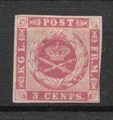 Deens West-Indië 1866 - AFA 2 - Ongebruikt
