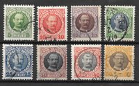 Antilles danoises 1907 - AFA 36-43 - Oblitéré