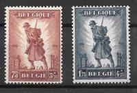 Belgique 1932 - AFA 341-42 - Neuf avec charnière