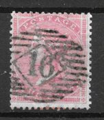 Englanti 1855 - AFA 13 - Leimattuina