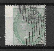 Englanti 1855 - AFA 15 - Leimattuina