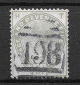 Englanti 1883 - AFA 78 - Leimattuina