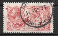Englanti 1912 - AFA 143 - Leimattuina