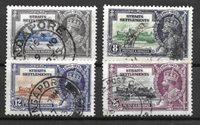Colonie Britanniche 1935 - Usati