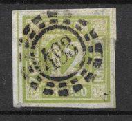 Allemagne États 1861 - AFA 13 - Oblitéré