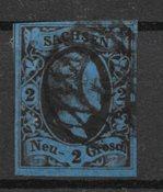 Allemagne États 1851 - AFA 6 - Oblitéré