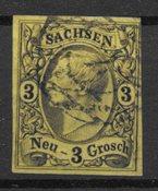 Allemagne États 1851 - AFA 7 - Oblitéré