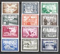Deutsches Reich 1939 - AFA 697-708 - Käyttämät ön