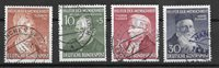 Allemagne 1952 - AFA 1119-1122 - Oblitéré