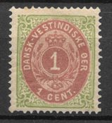 Danish West Indies  - AFA 5y - Unused