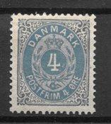 Danmark  - AFA 23 - ustemplet