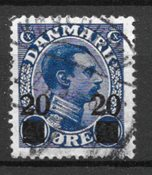 Danimarca  - AFA 153 - Usati