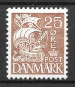 Danmark  - AFA 214 - ustemplet