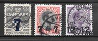 Danimarca  - AFA 157-159 - Usati