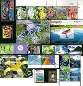 Equateur, Paraguay, Uruguay -  Paquet de timbres -  Neufs