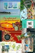Christmas Island, Cocosøerne - Frimærkepakke - Postfrisk