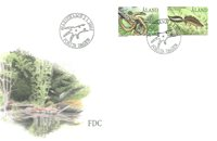 Åland 2002 - Env.premier jour - LAPE no. 199-200
