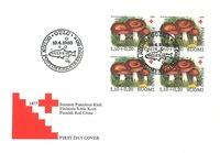 Finland 1980 - FDC - Firblok - LAPE nr. 865
