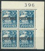 Danmark - Postfærge AFA 24 ubrugt