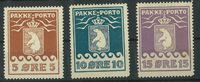 Grønland - Pakkeporto ubrugt AFA 61-71-81